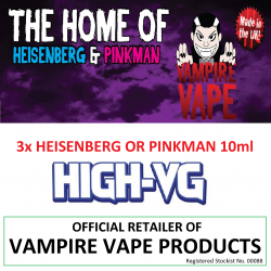 VAMPIRE VAPE E-LIQUID HIGH-VG